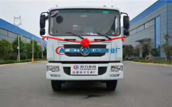 6立方东风多利卡垃圾车|程力集团军工品质|厂家出厂价多少呢图片