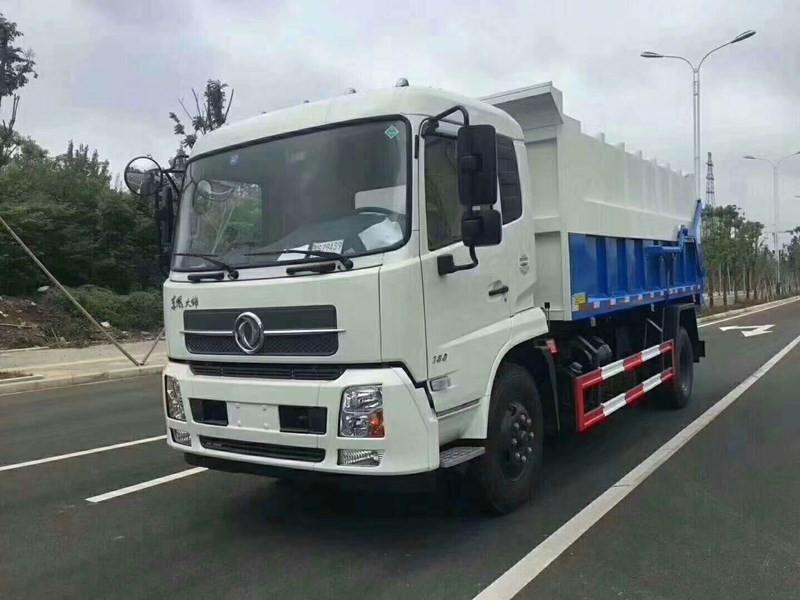 国六东风天锦14方垃圾车 厂家直销图片