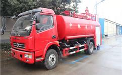 东风8吨消防洒水车--消防洒水车厂家-东风多利卡洒水车图片