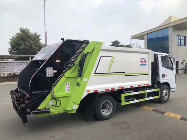 新品國六壓縮式垃圾車