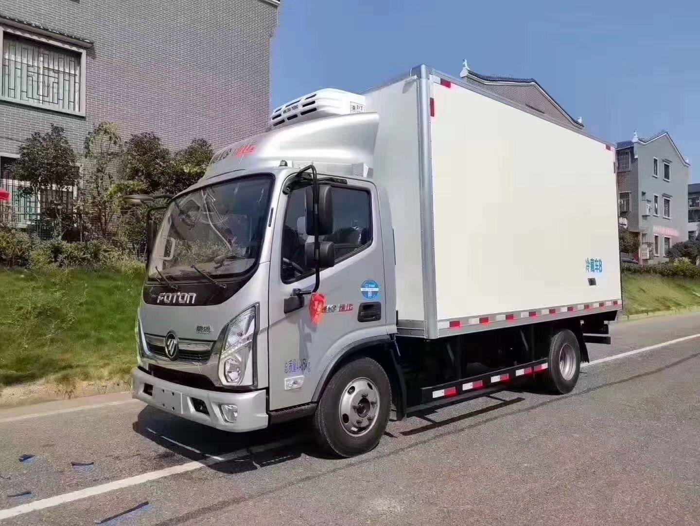 奧鈴4.2米冷藏車制冷效果牛不牛?您自己看圖片
