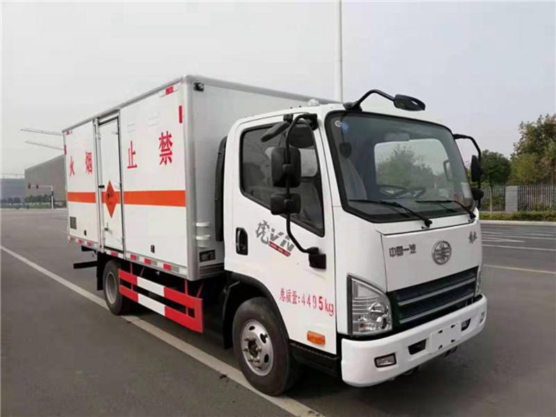4米2货厢解放防爆车生产过程参数图牌价格