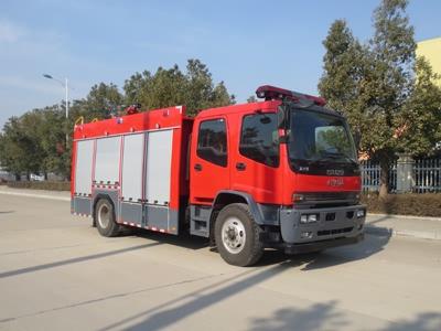 慶鈴五十鈴水罐消防車