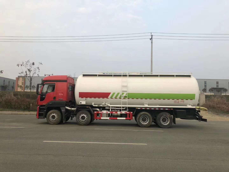 江铃威龙320马力高端32方粉粒物料车图片