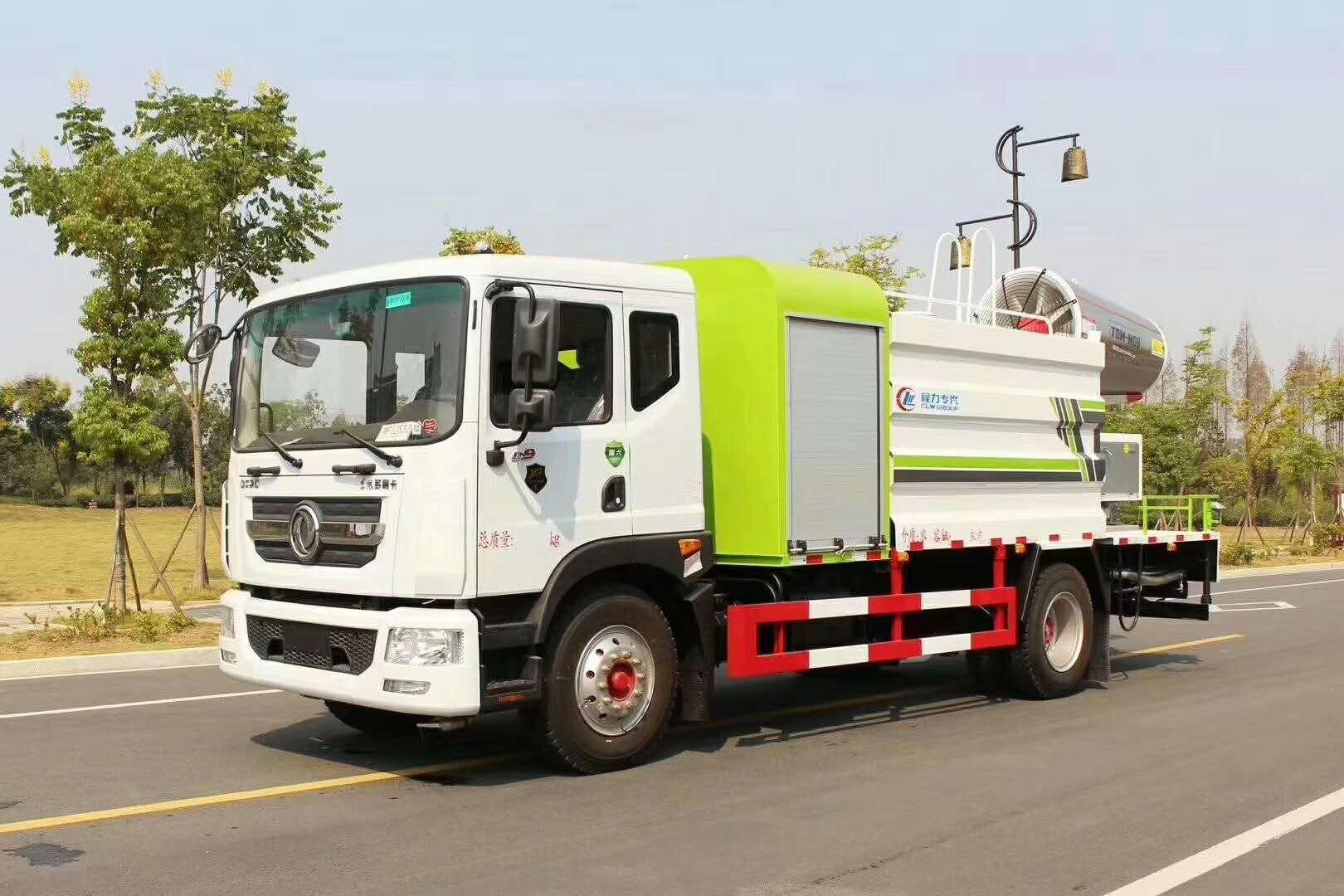 东风天锦、D9热销系列60~80米雾炮车!是抑尘降霾克星,所到之处蓝天白云彩虹!视频