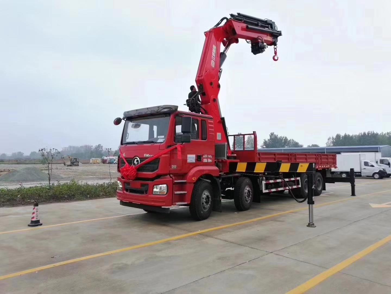 陕汽德龙34吨折臂吊