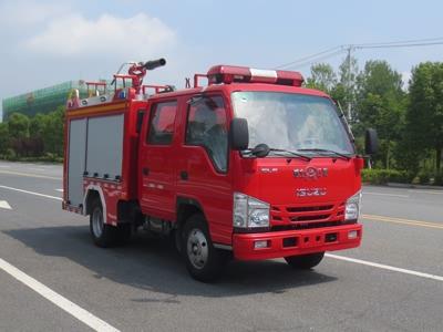 五十鈴國六1噸泡沫消防車