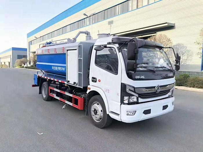 东风凯普特K7清洗吸污车1