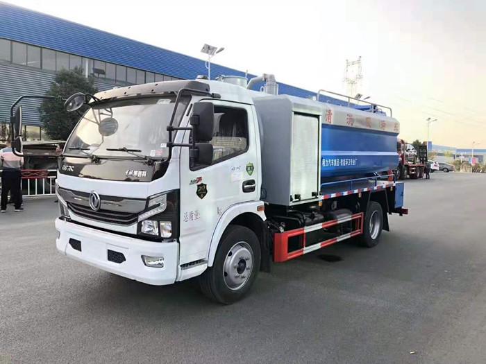 东风凯普特K7清洗吸污车2
