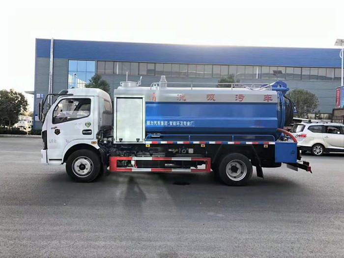 东风凯普特K7清洗吸污车3