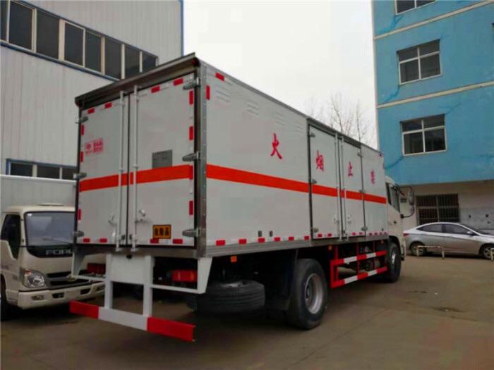 東風天錦易燃液體廂式運輸車哪里有賣圖片