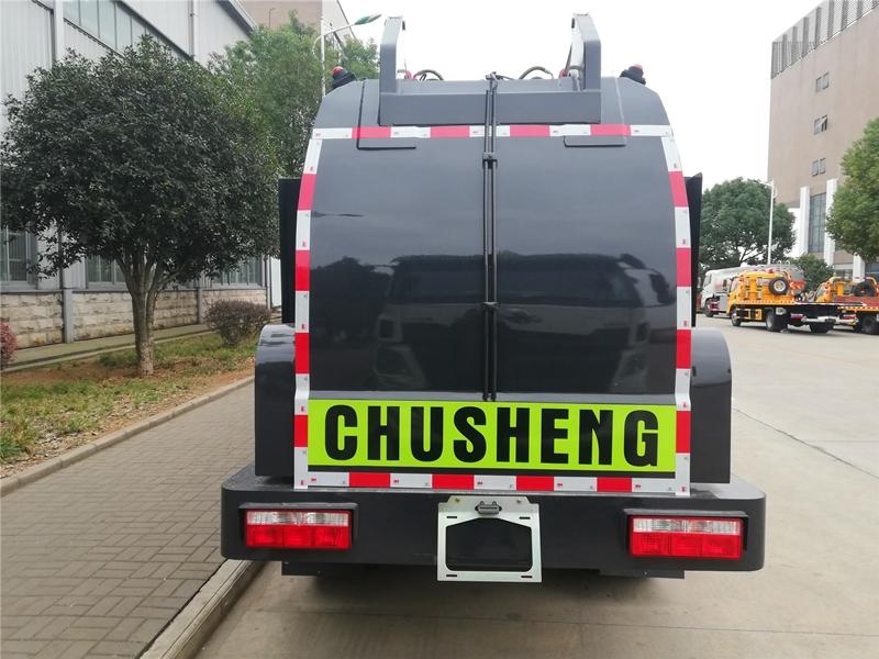 东风华神餐厨垃圾车,6方餐厨垃圾车