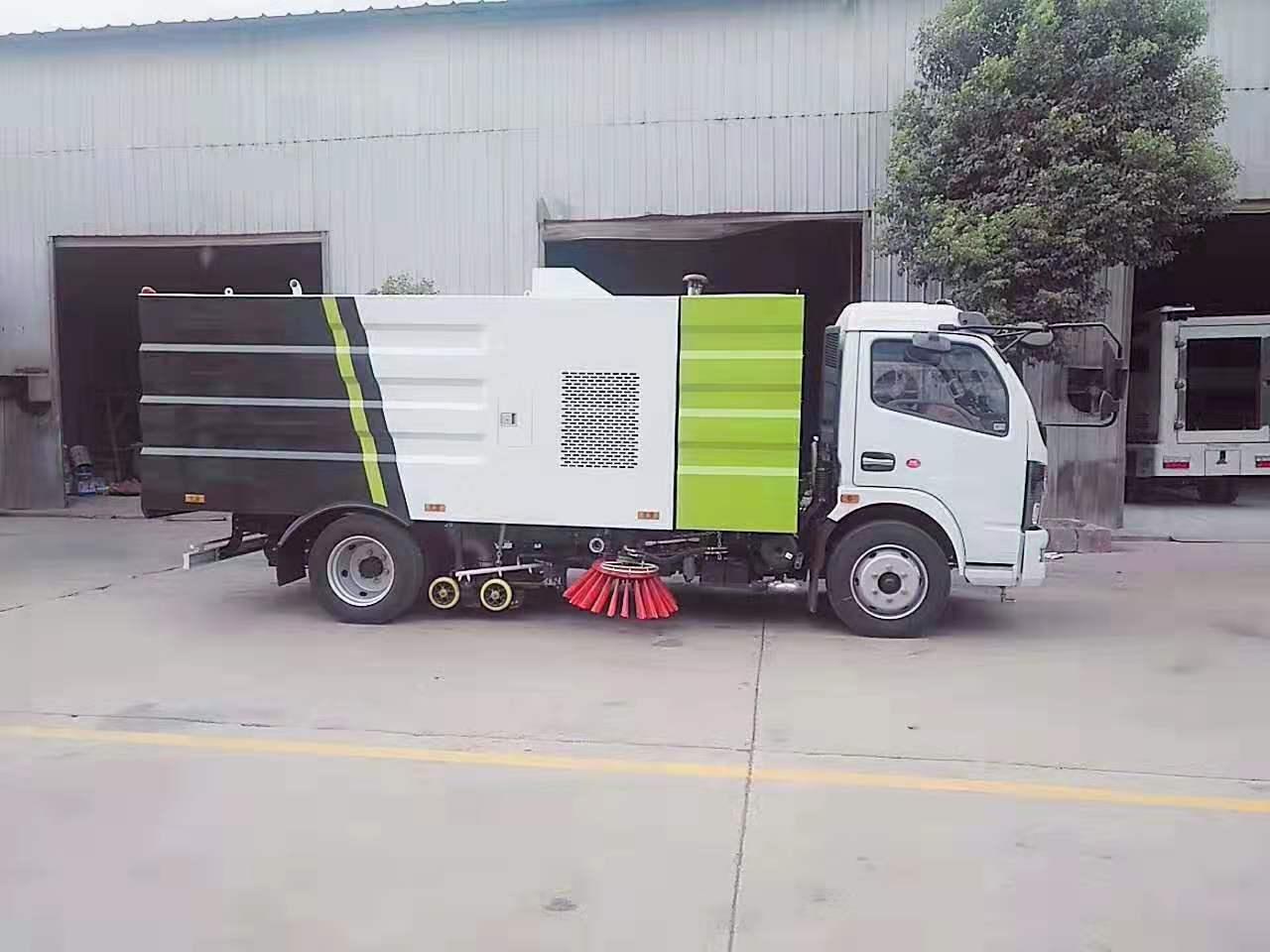 东风多利卡国六洗扫车