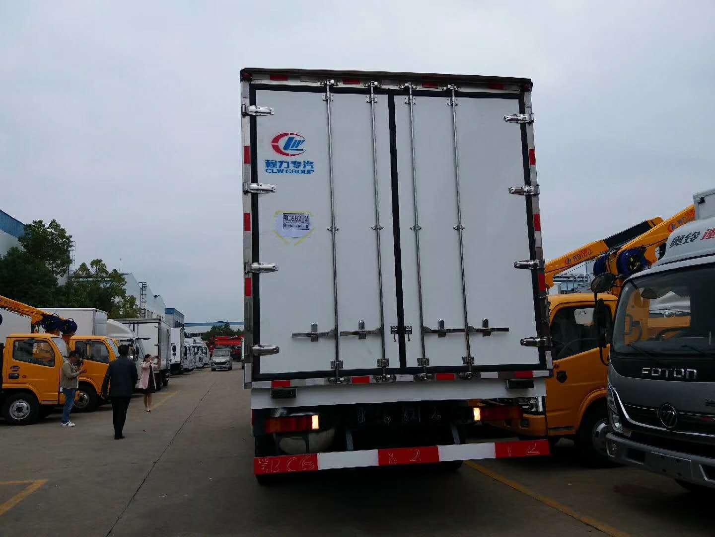 東風天錦肉鉤冷藏車 凱雪860U底置冷機圖片