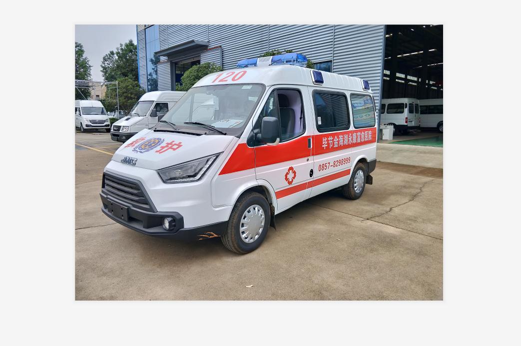 經典特順短軸運輸型救護車(柴油)