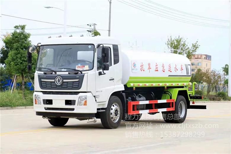 国六东风天锦12-14m³洒水车