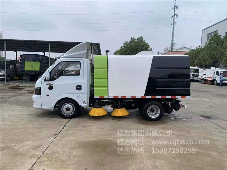 国六东风逸途2.5m³扫路车