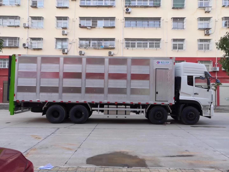 東風天龍鋁合金畜禽運輸車豬仔車運豬車圖片專汽詳情頁圖片