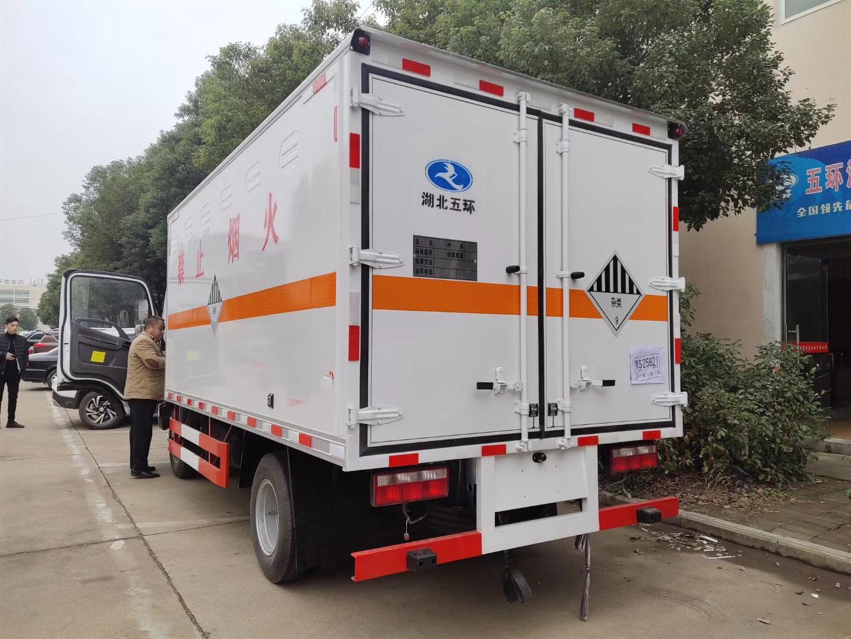 解放虎V雜項危險品廂式運輸車車圖片專汽詳情頁圖片