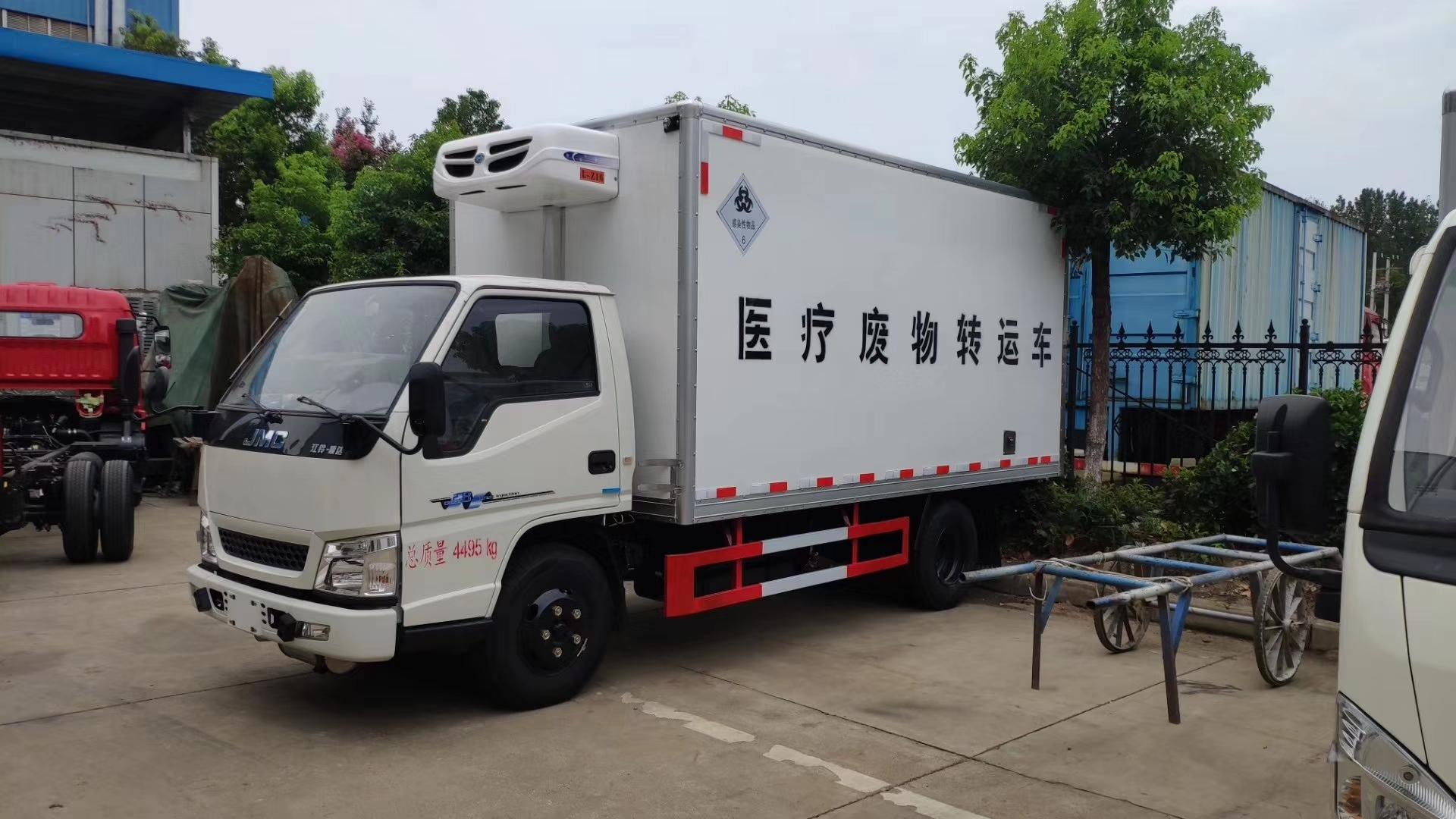 江鈴藍牌醫療廢棄物轉運車圖片