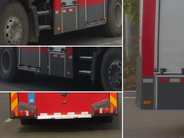 重汽豪沃泡沫消防车
