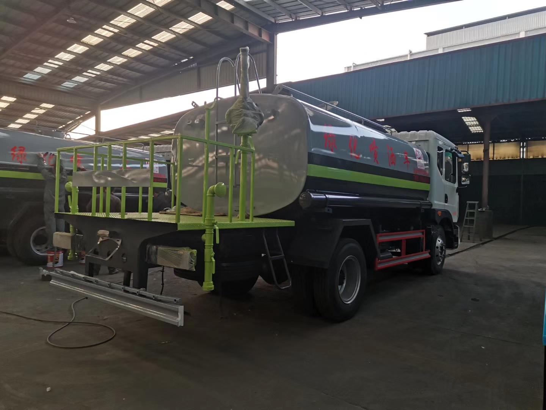 新中綠12方灑水抑塵車圖片