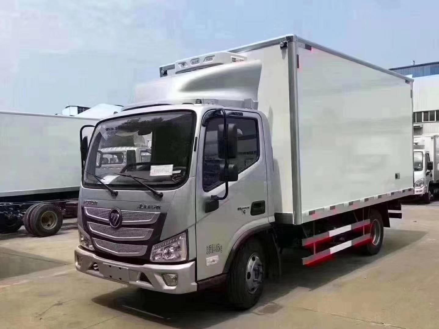 福田歐馬可S3冷藏車4.2米冷藏車圖片