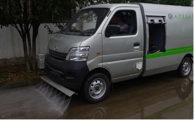 小型路面清洗车---长安清洗车功能 详细介绍