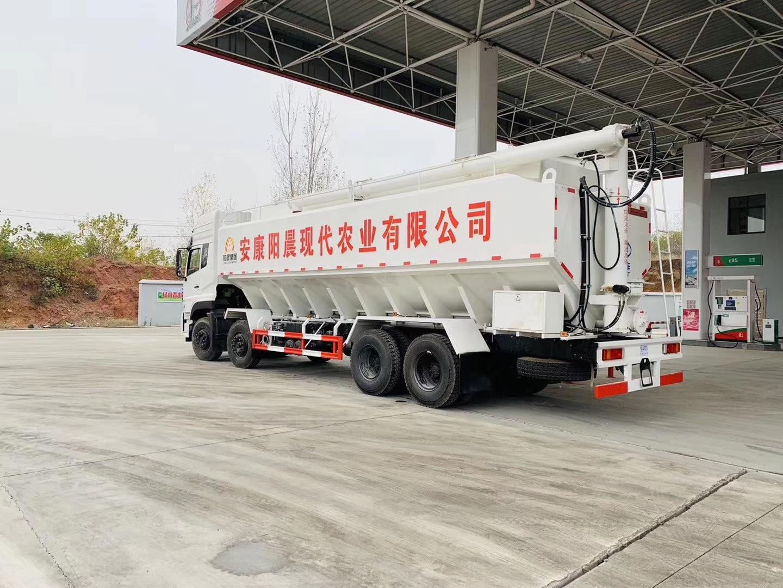 国六东风天龙前四后八(40方/20吨)饲料车图片