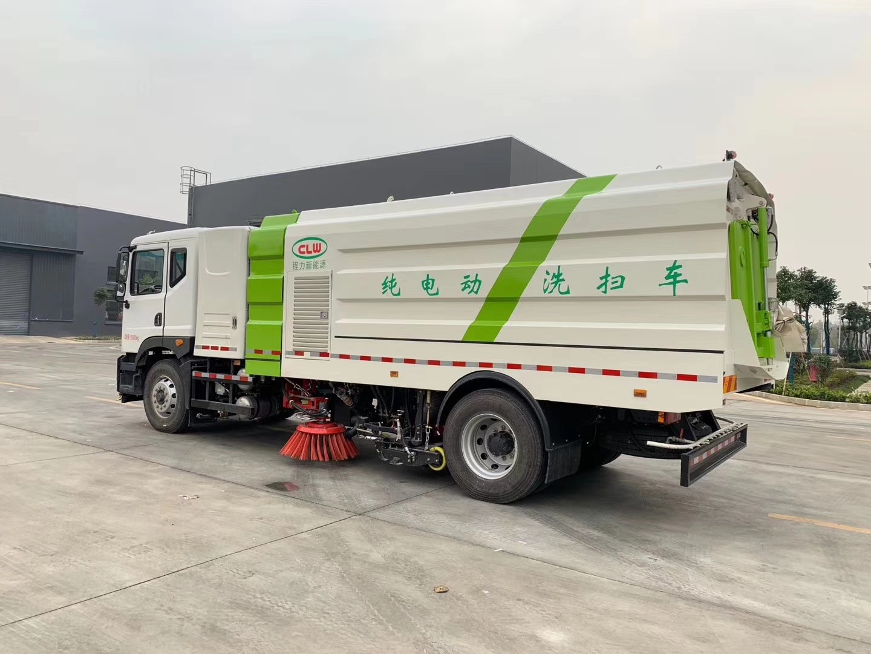 东风新能源纯电动洗扫车图片