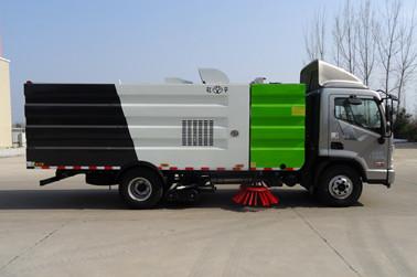 现代胜图8吨洗扫车