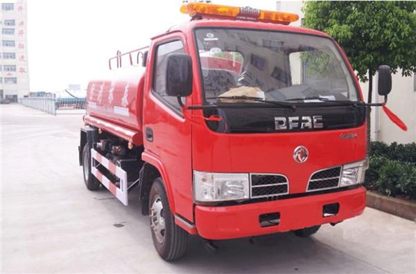 东风福瑞卡5吨消防洒水车厂家直销| 程力专汽有限公司图片
