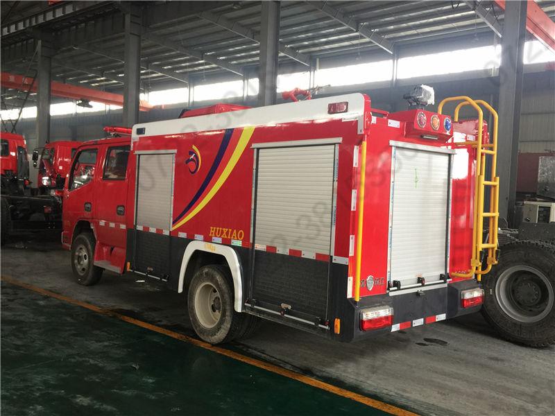 3噸國六東風水罐消防車 3方水罐消防車