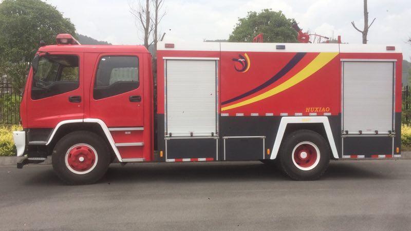 6噸國六慶鈴五十鈴水罐消防車