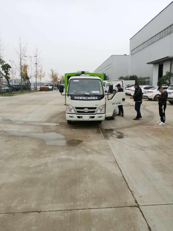 福田不上户吸尘车,小型厂区专用视频