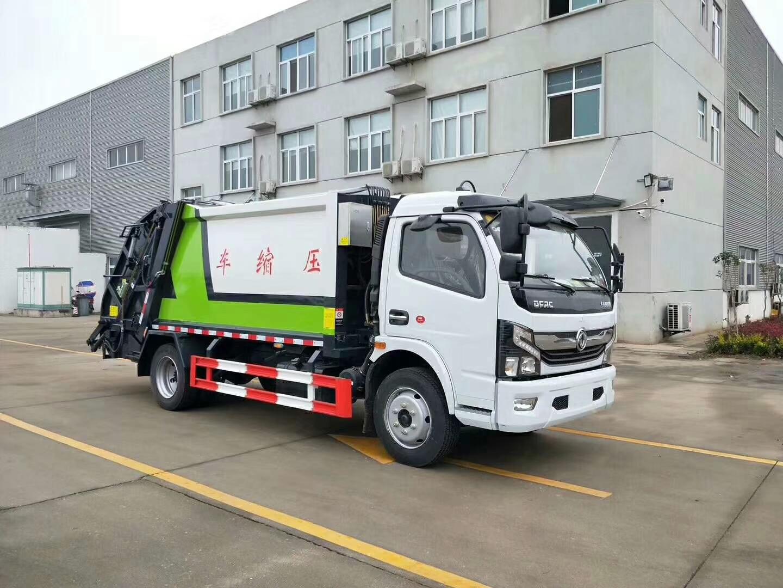 東風福瑞卡8方5噸壓縮垃圾車圖片