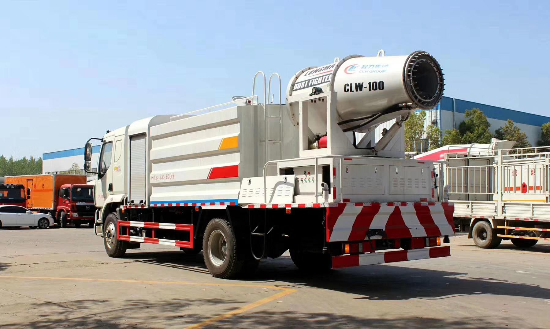 東風柳汽100米霧炮車12噸灑水車圖片