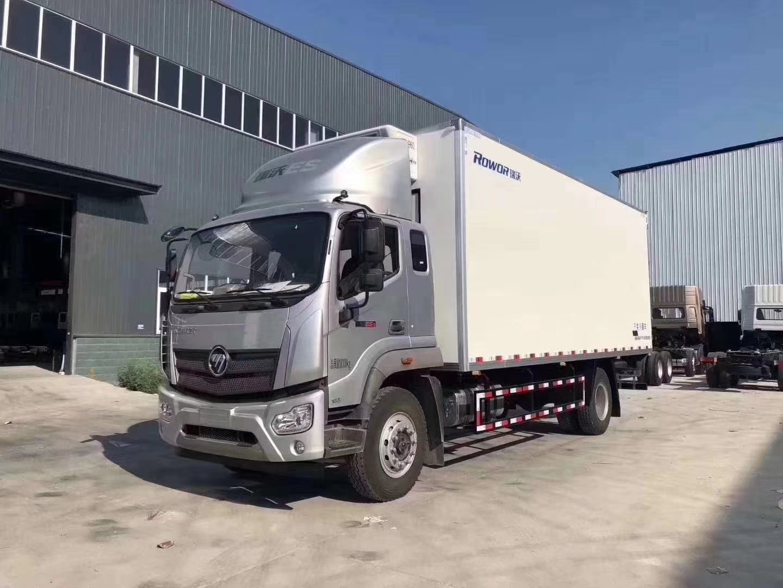 福田瑞沃ES5冷藏車7.8米冷藏車圖片