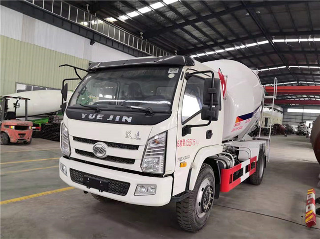 国五跃进X500单桥小型搅拌车厂家直销和价格