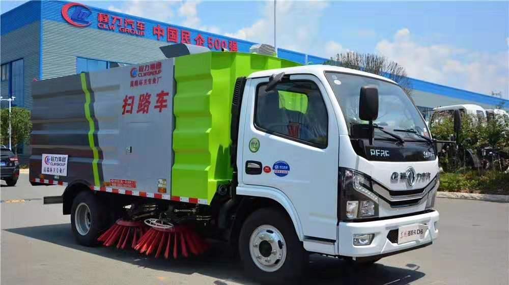 國六小多利卡掃路車道路清潔能手圖片