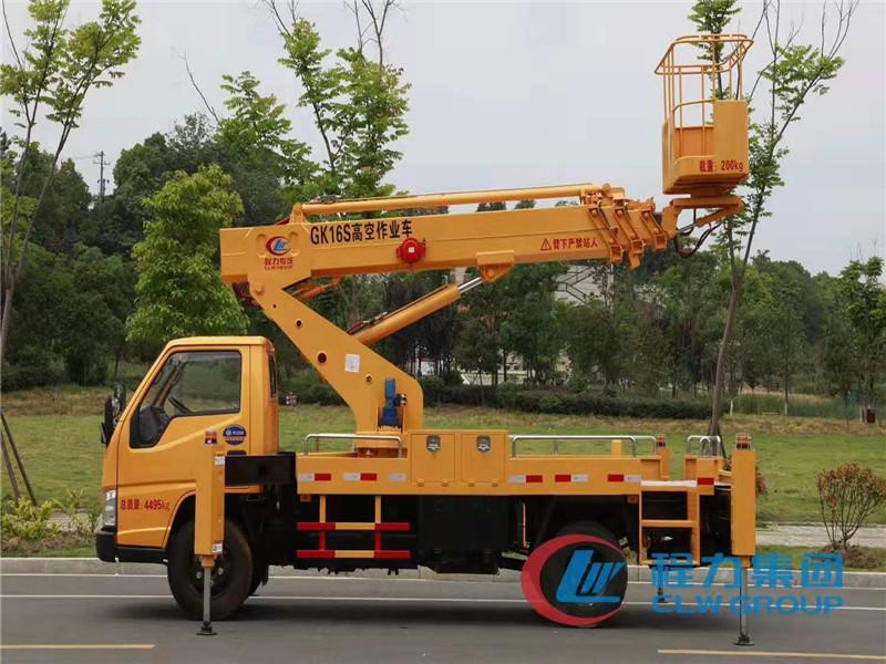 黃牌22米登高作業車直臂車圖片圖片
