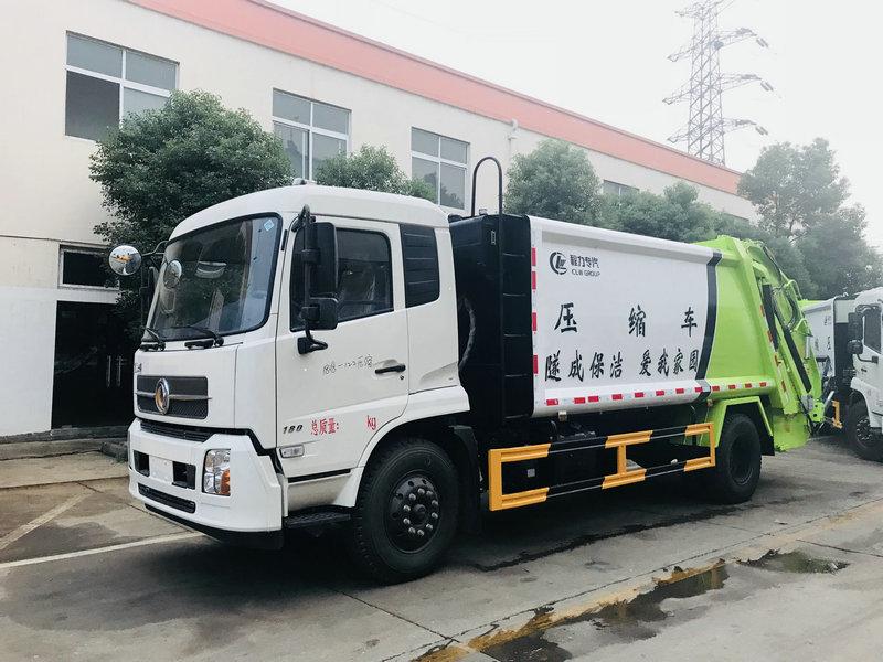 東風12立方壓縮垃圾車-廠家最新款式價格圖片