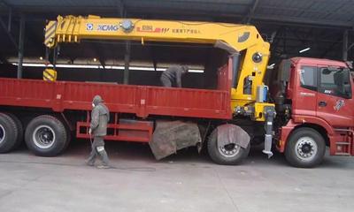 东风D7前四后八16吨随车吊 石煤随车吊