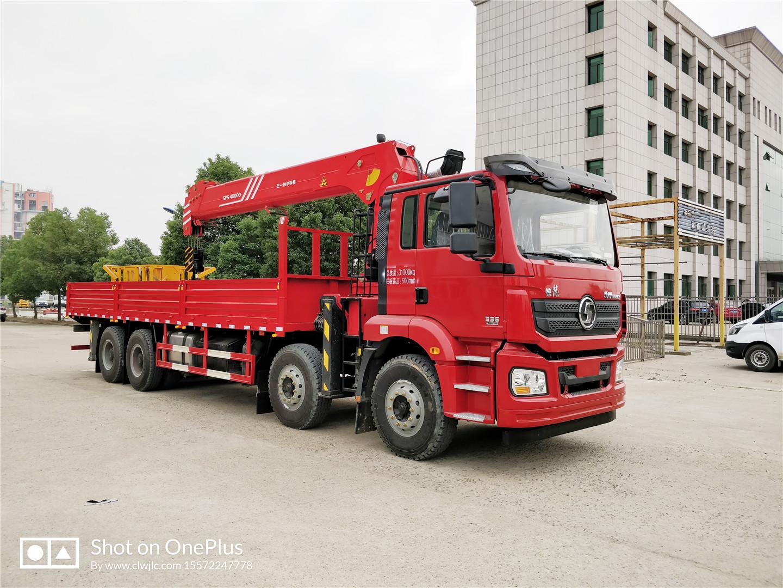 陕汽德龙新M3000三一16吨随车吊