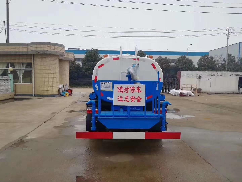 東風多利卡9噸灑水車價格降至冰點圖片