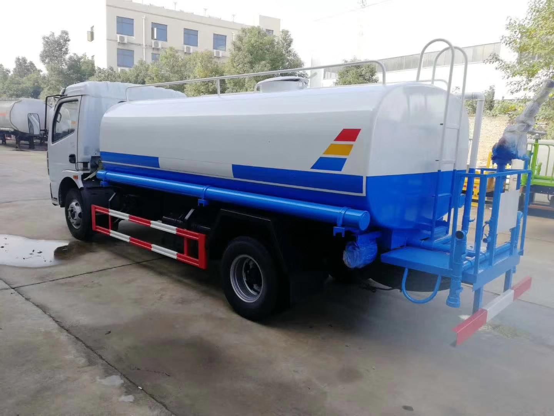 東風多利卡8噸灑水車現車低價銷售圖片