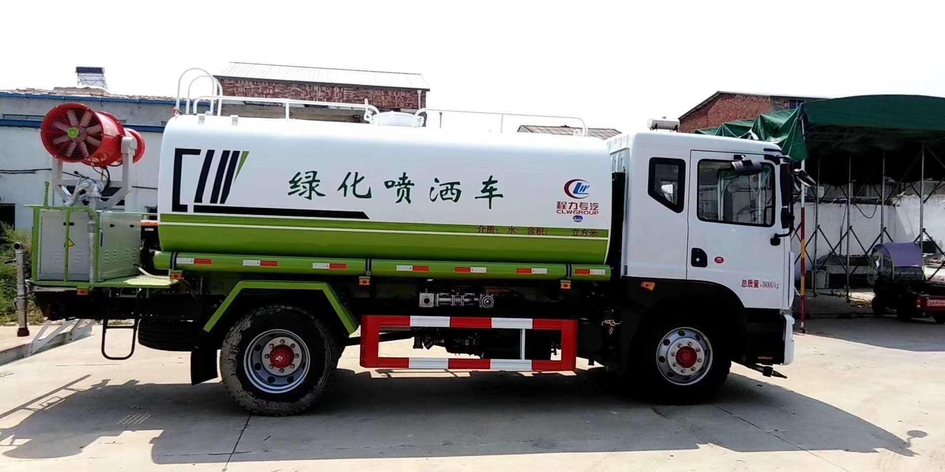 國六14噸水車廠價供應圖片