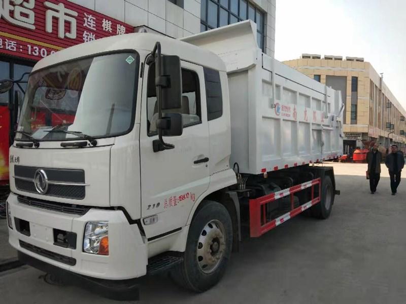 东风天锦17立方垃圾车-康机210马力什么价