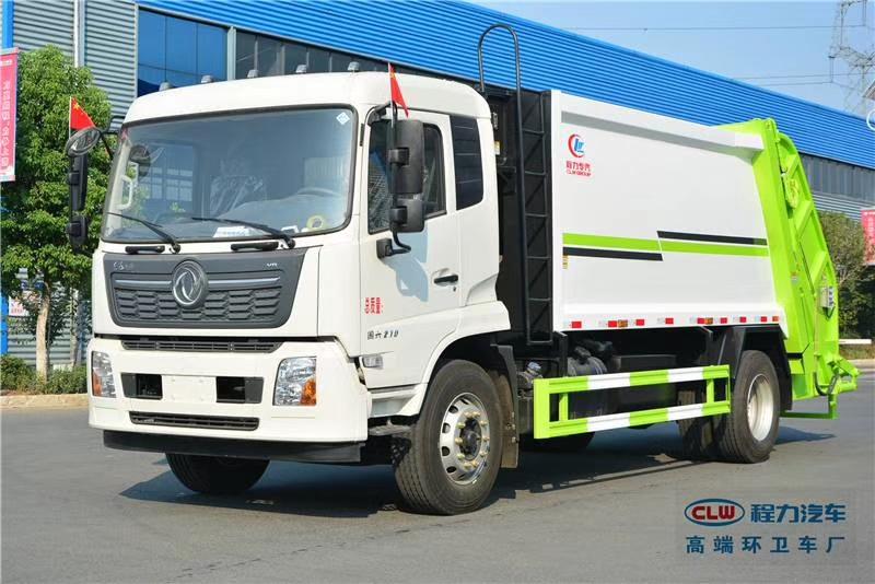 國六東風天錦14方12噸壓縮垃圾車圖片