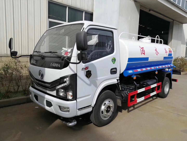 東風國六5方灑水車灑水車價格圖片